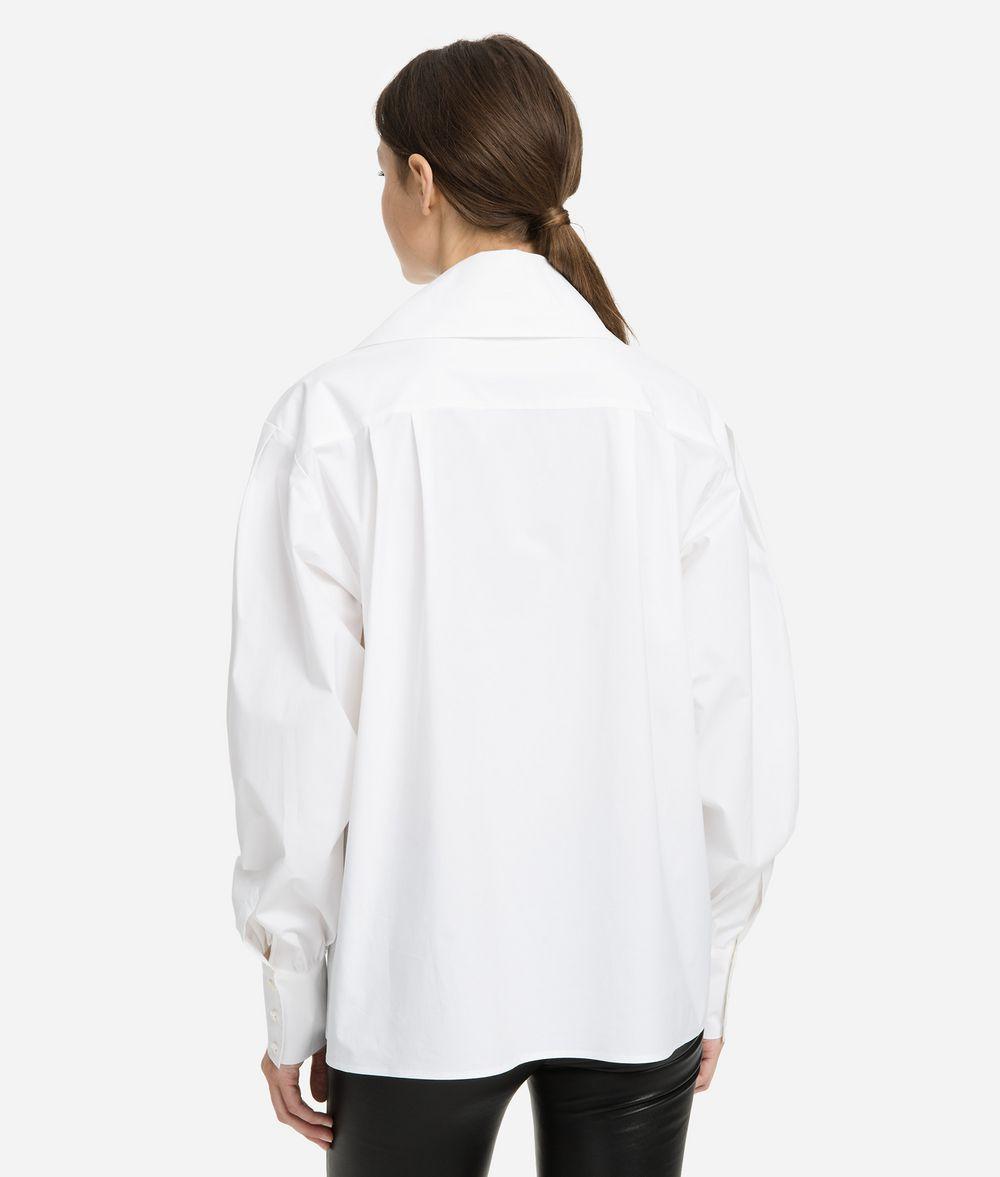 KARL LAGERFELD Karl Bow Shirt Blouse Woman d