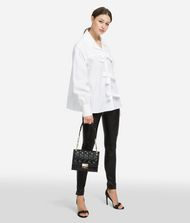KARL LAGERFELD Karl Bow Shirt Blouse Woman a