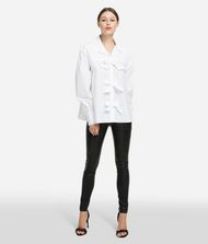 KARL LAGERFELD Karl Bow Shirt Blouse Woman f