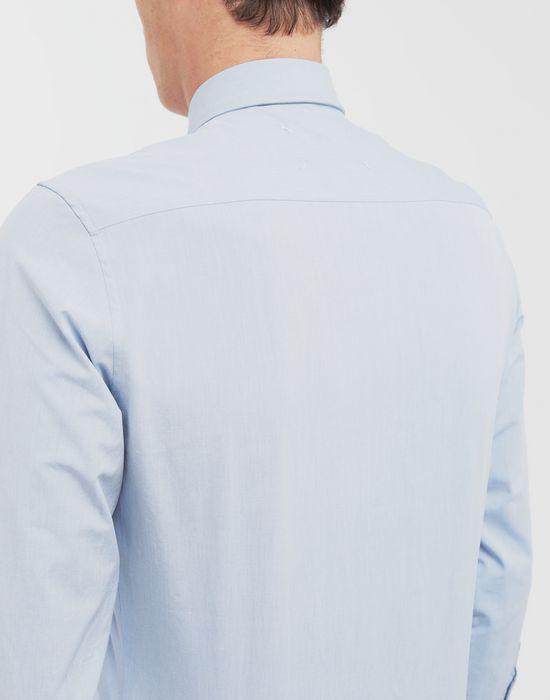 MAISON MARGIELA Tumbled canvas cotton shirt Long sleeve shirt [*** pickupInStoreShippingNotGuaranteed_info ***] b