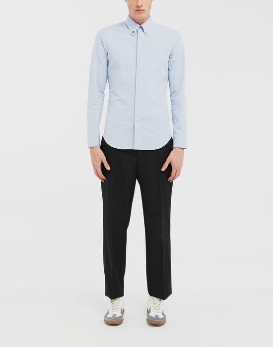 MAISON MARGIELA Tumbled canvas cotton shirt Long sleeve shirt [*** pickupInStoreShippingNotGuaranteed_info ***] d