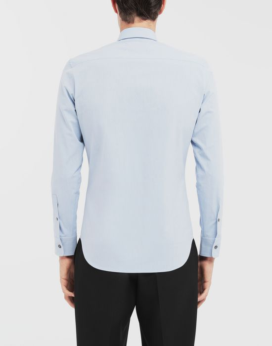 MAISON MARGIELA Tumbled canvas cotton shirt Long sleeve shirt [*** pickupInStoreShippingNotGuaranteed_info ***] e