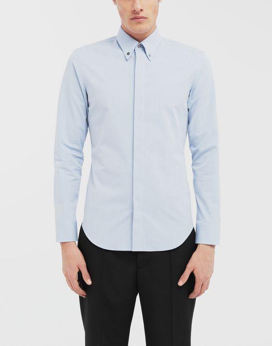 MAISON MARGIELA Tumbled canvas cotton shirt Long sleeve shirt [*** pickupInStoreShippingNotGuaranteed_info ***] r