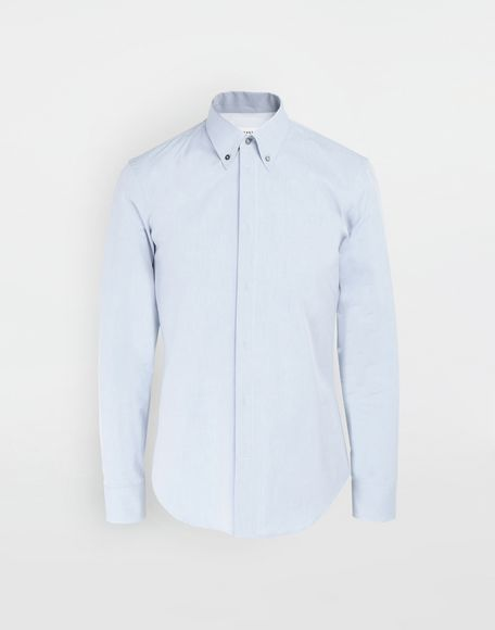 MAISON MARGIELA Tumbled canvas cotton shirt Long sleeve shirt Man f