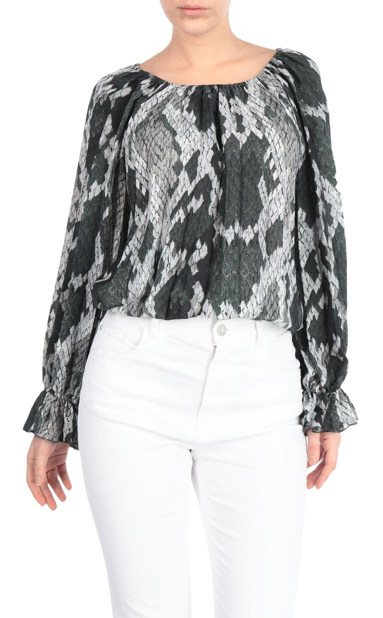 JUST CAVALLI Python-print top Top [*** pickupInStoreShipping_info ***] f