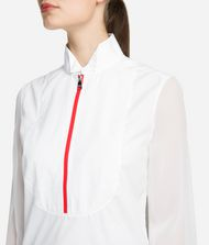 KARL LAGERFELD Cotton Plastron Shirt 9_f
