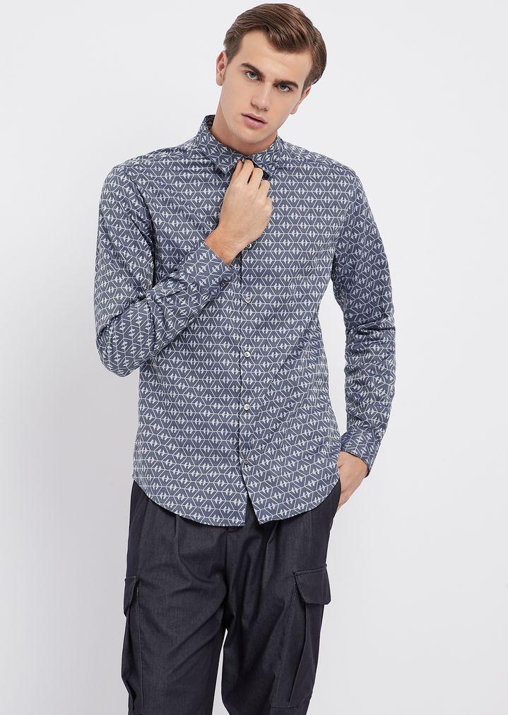 03df5fd911ef Casual Shirt   Man   Emporio Armani