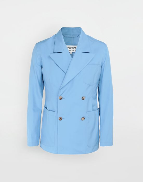 MAISON MARGIELA Double-breasted suit jacket Blazer [*** pickupInStoreShippingNotGuaranteed_info ***] f