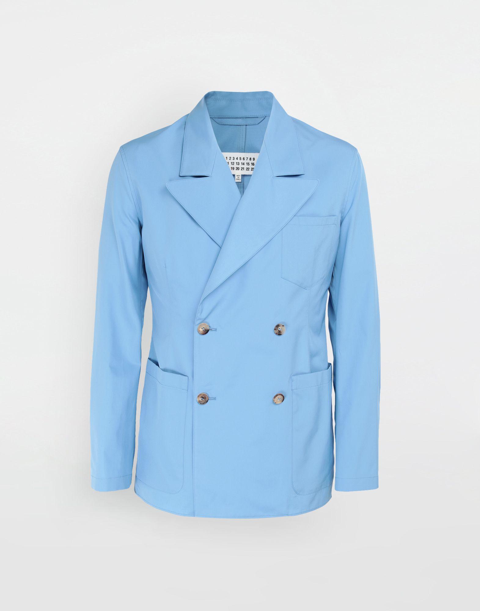 MAISON MARGIELA Double-breasted suit jacket Blazer Man f