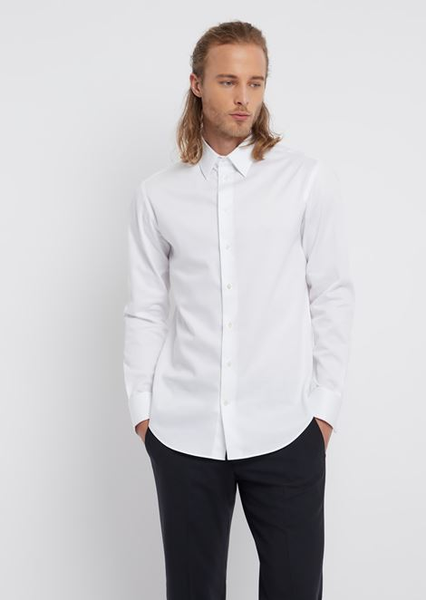 Cotton modern fit shirt