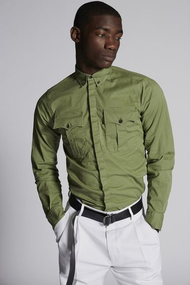 DSQUARED2 Рубашка Для Мужчин S78DM0003S36275100 m
