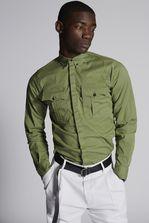 DSQUARED2 Cotton Carpenter Shirt  Shirt Man