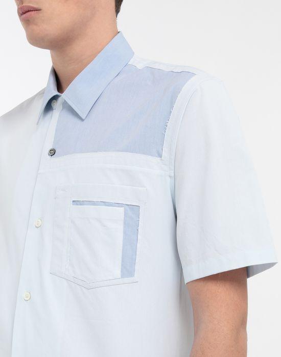 MAISON MARGIELA Décortiqué pocket shirt Short sleeve shirt [*** pickupInStoreShippingNotGuaranteed_info ***] a