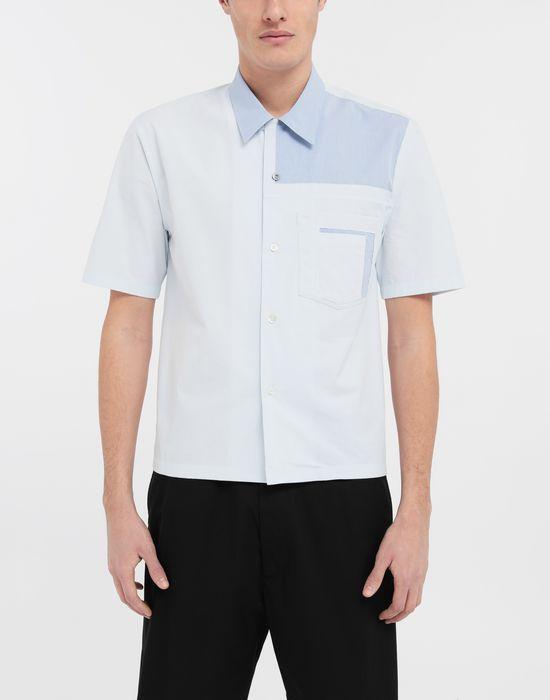 MAISON MARGIELA Décortiqué pocket shirt Short sleeve shirt [*** pickupInStoreShippingNotGuaranteed_info ***] r