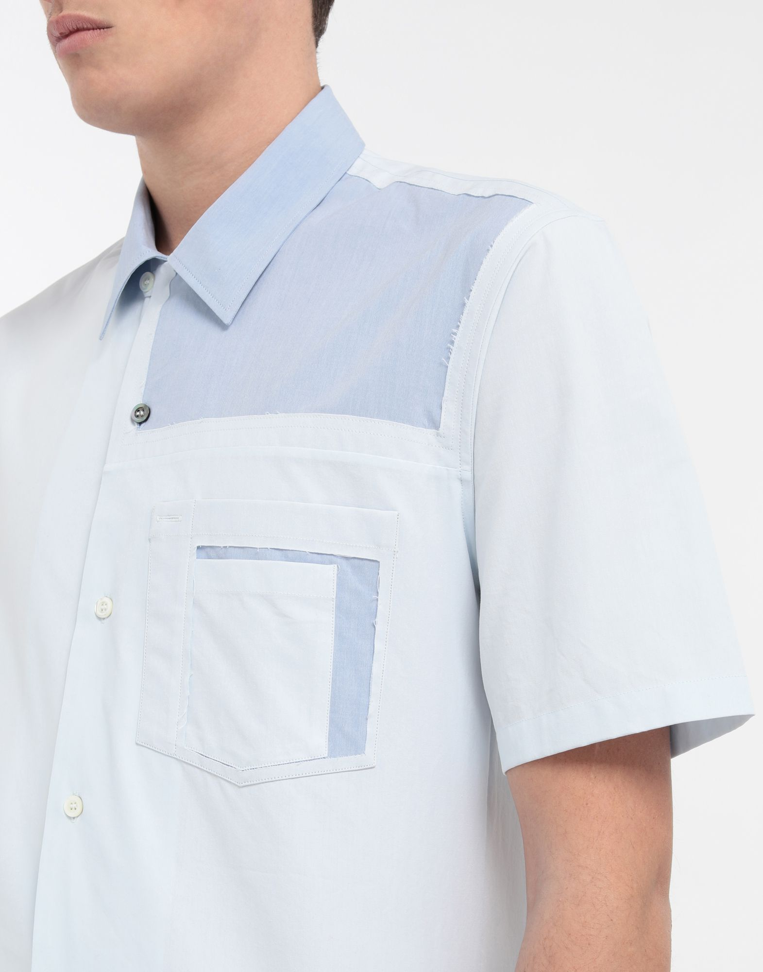 MAISON MARGIELA Décortiqué pocket shirt Short sleeve shirt Man a