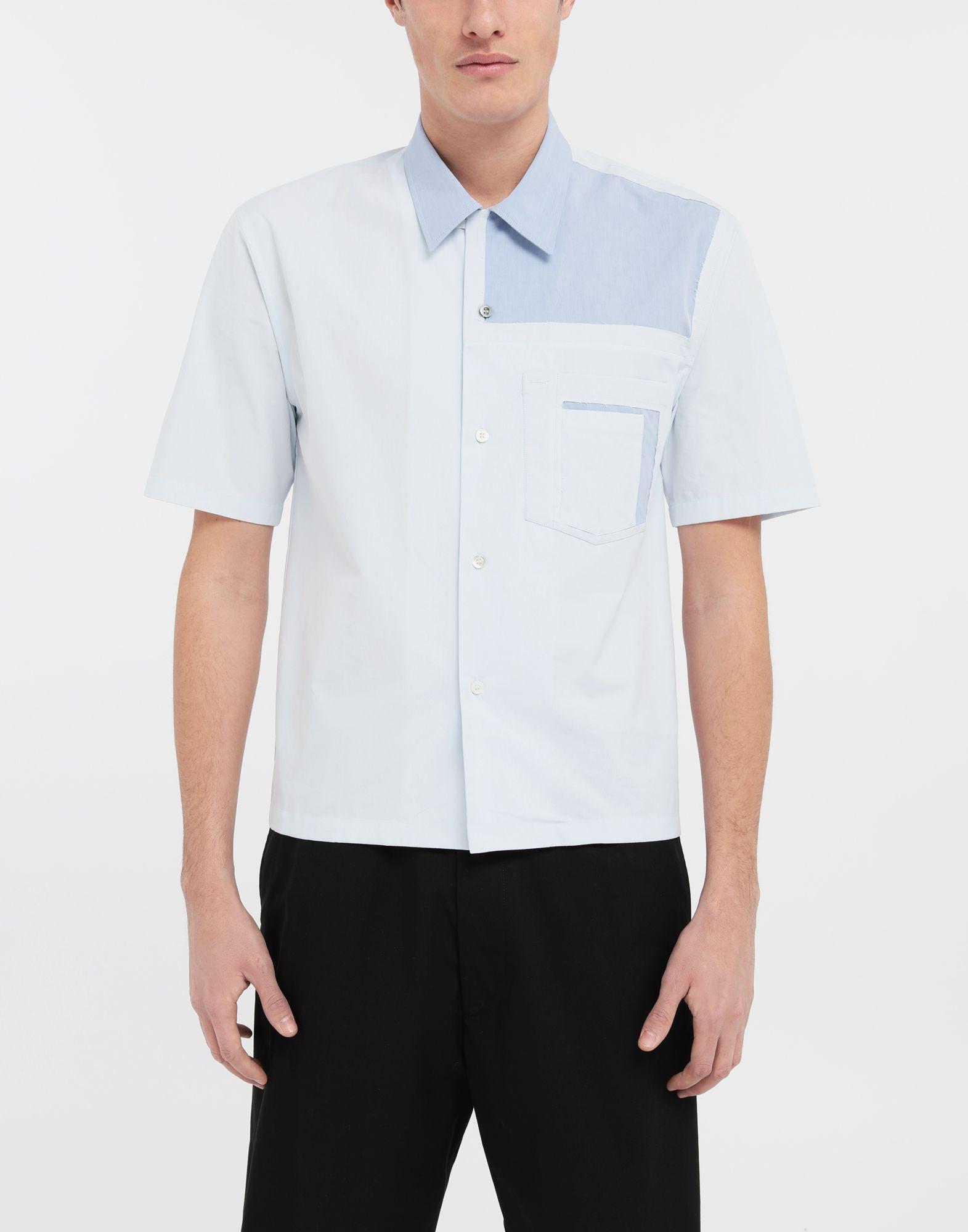 MAISON MARGIELA Décortiqué pocket shirt Short sleeve shirt Man r