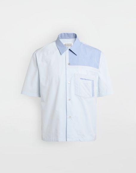 MAISON MARGIELA Décortiqué pocket shirt Short sleeve shirt Man f