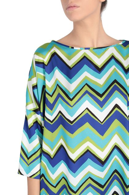 M MISSONI Blouse Green Woman - Front