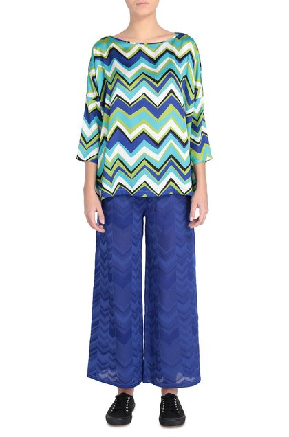 M MISSONI Blouse Green Woman - Back