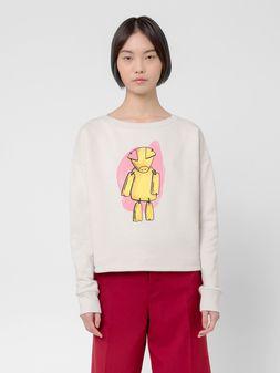 Marni Sweatshirt in cotton jersey Woman