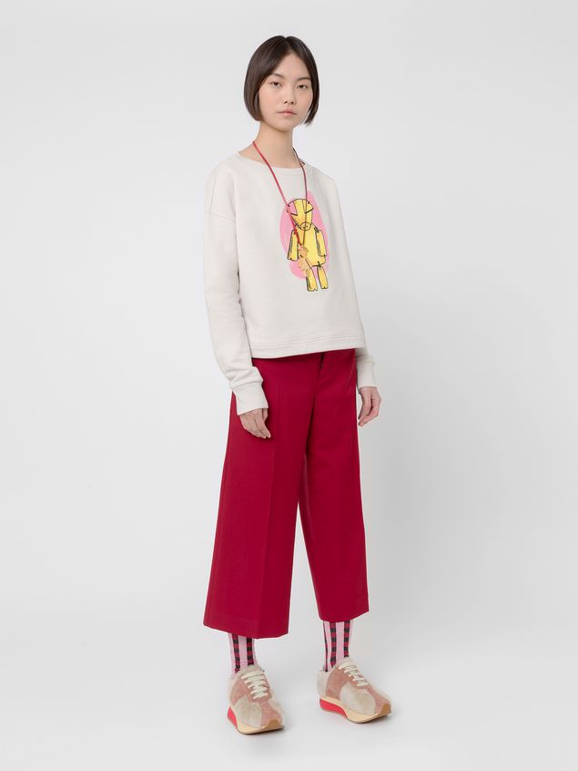 Marni Sweatshirt in cotton jersey Woman - 5