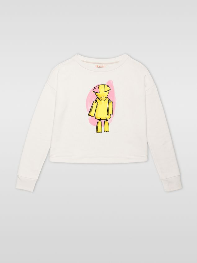 Marni Sweatshirt in cotton jersey Woman - 2
