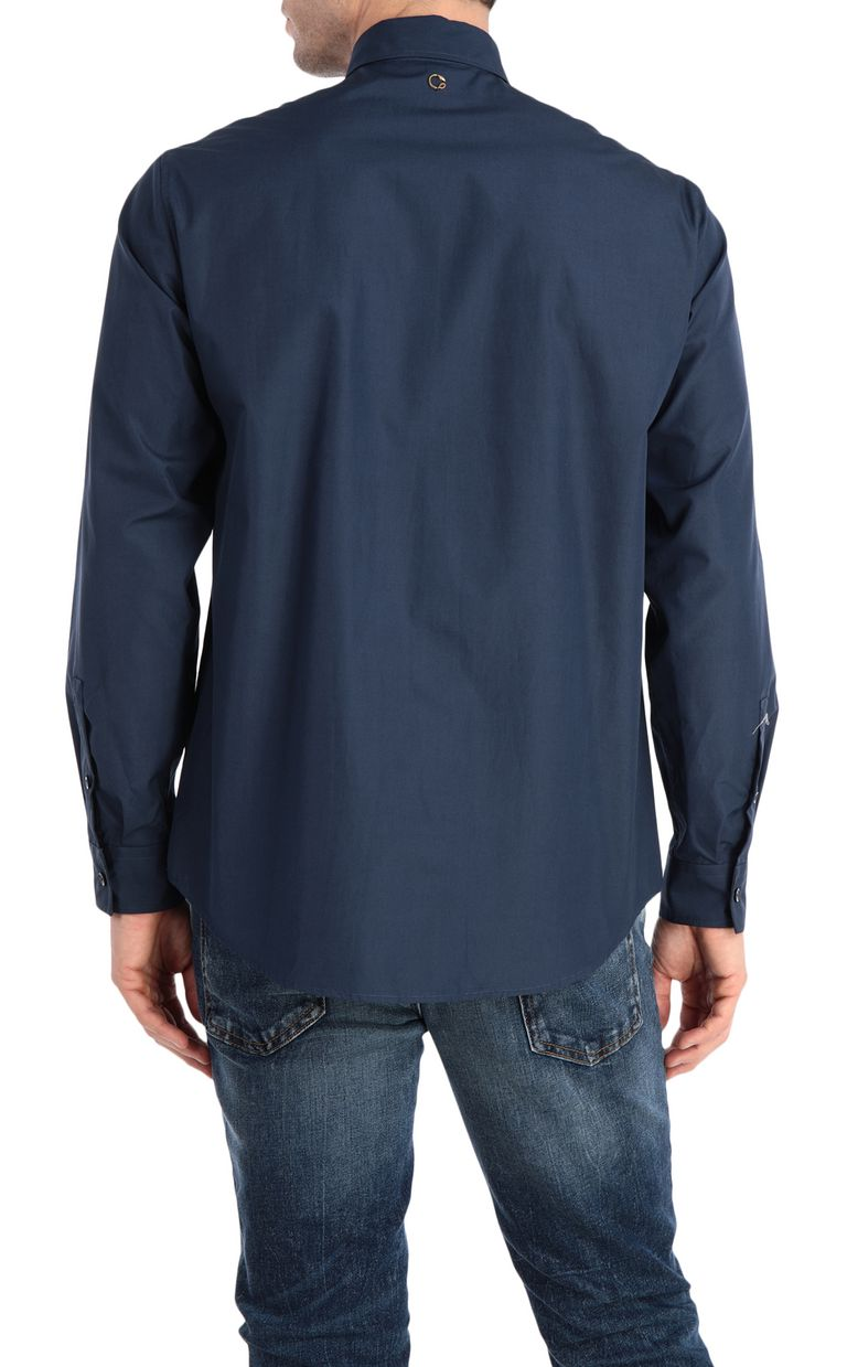 JUST CAVALLI Skull-print shirt Long sleeve shirt Man r