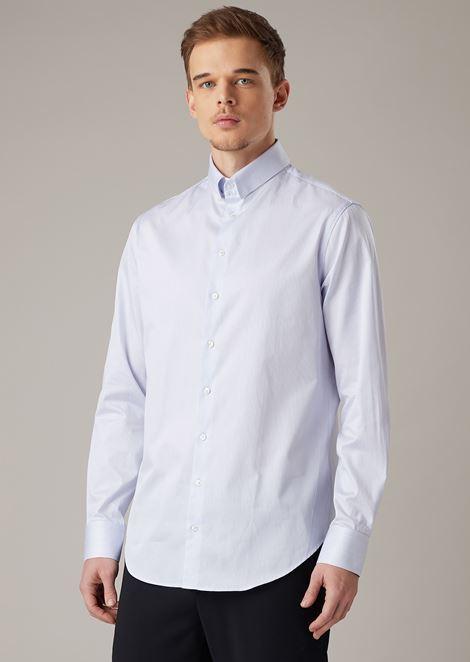 GIORGIO ARMANI クラシックシャツ メンズ f