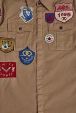 DSQUARED2 Patches Shirt Рубашка Для Мужчин