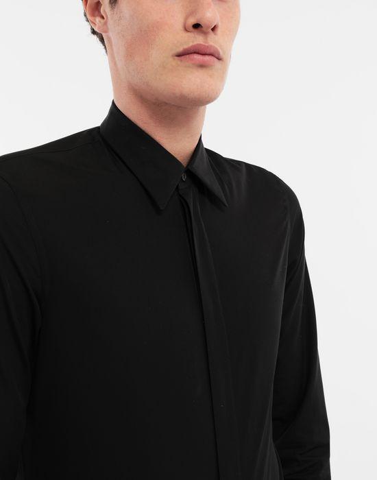 MAISON MARGIELA Cotton-poplin slim fit shirt Long sleeve shirt [*** pickupInStoreShippingNotGuaranteed_info ***] a