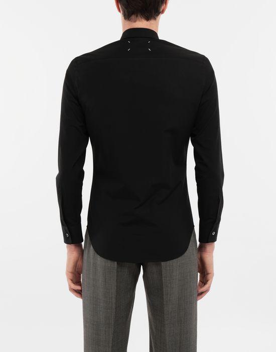 MAISON MARGIELA Cotton-poplin slim fit shirt Long sleeve shirt [*** pickupInStoreShippingNotGuaranteed_info ***] e