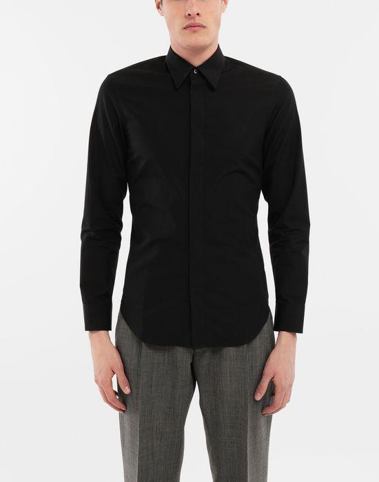 MAISON MARGIELA Cotton-poplin slim fit shirt Long sleeve shirt [*** pickupInStoreShippingNotGuaranteed_info ***] r