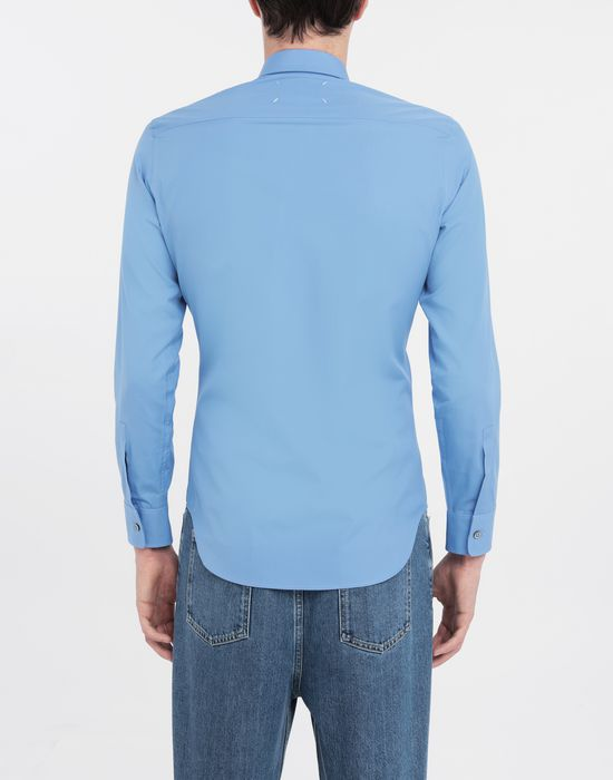 MAISON MARGIELA Cotton-poplin slim fit shirt Long sleeve shirt [*** pickupInStoreShippingNotGuaranteed_info ***] e
