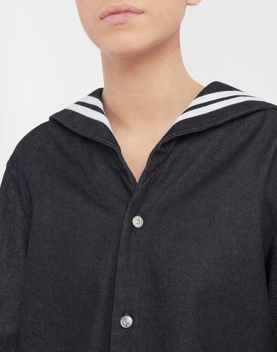 MM6 MAISON MARGIELA Sailor long-sleeved shirt Long sleeve shirt [*** pickupInStoreShipping_info ***] a