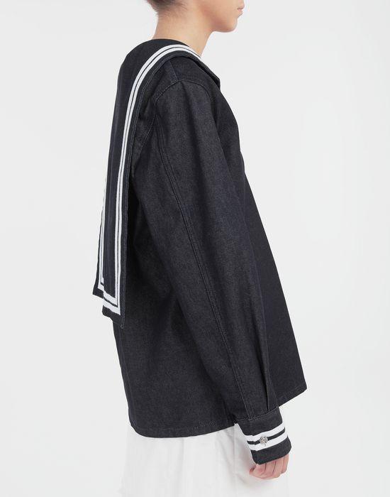 MM6 MAISON MARGIELA Sailor long-sleeved shirt Long sleeve shirt [*** pickupInStoreShipping_info ***] b