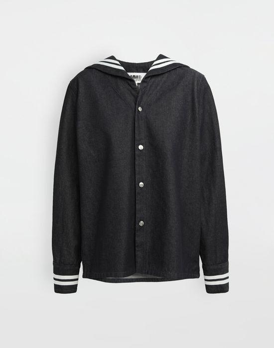 MM6 MAISON MARGIELA Sailor long-sleeved shirt Long sleeve shirt [*** pickupInStoreShipping_info ***] f