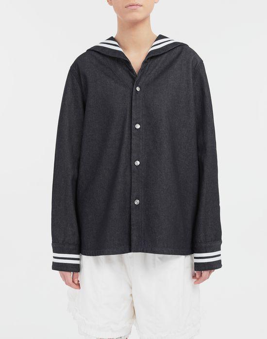 MM6 MAISON MARGIELA Sailor long-sleeved shirt Long sleeve shirt [*** pickupInStoreShipping_info ***] r