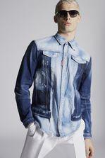 DSQUARED2 Mixed Denim Shirt  Denim shirt Man