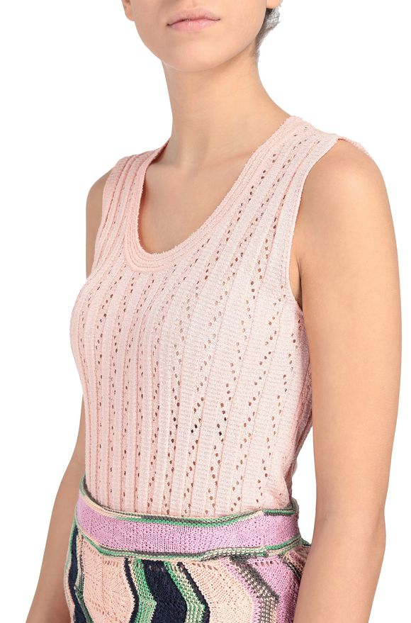 M MISSONI Top Damen, Rückansicht