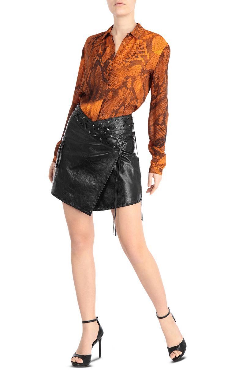 JUST CAVALLI Python-print blouse Long sleeve shirt [*** pickupInStoreShipping_info ***] d