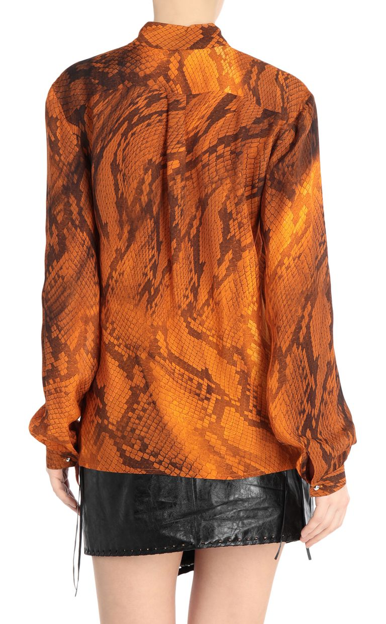 JUST CAVALLI Python-print blouse Long sleeve shirt [*** pickupInStoreShipping_info ***] r