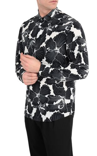 JUST CAVALLI Long sleeve shirt Man Logo-print shirt f