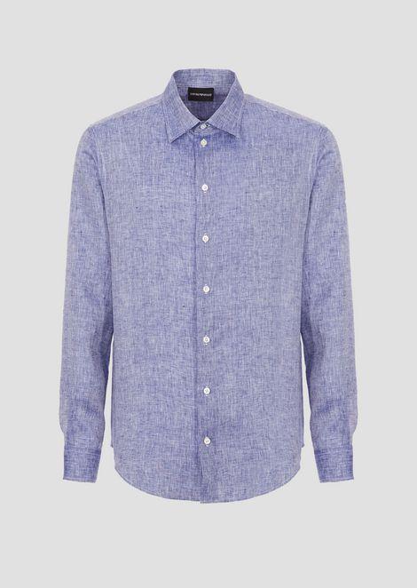 Chambray linen shirt