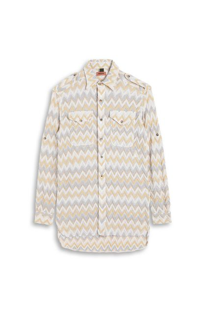 MISSONI Men's shirts Ochre Man - Back