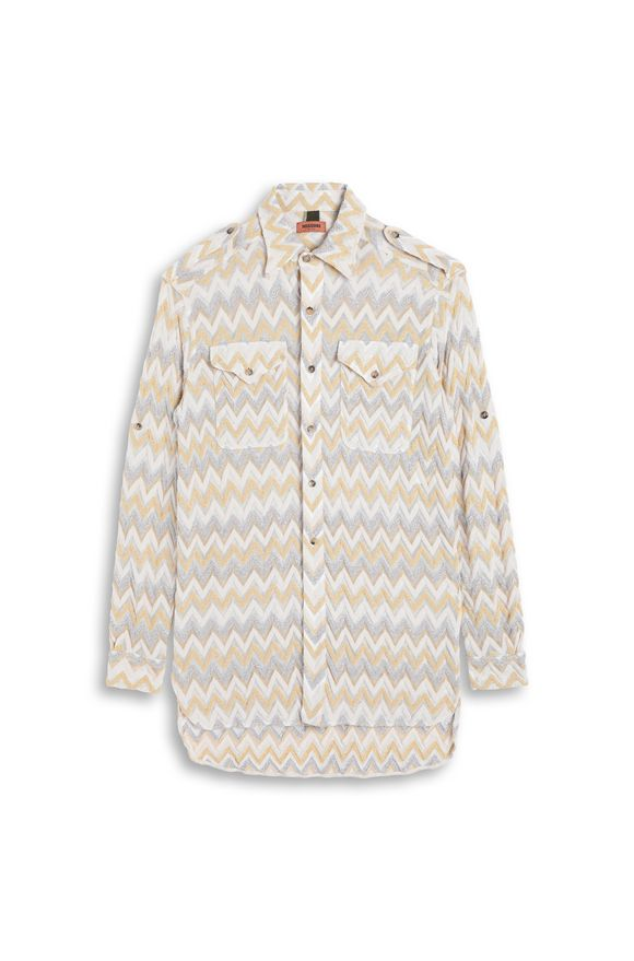MISSONI Men's shirts Ochre Man