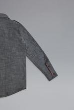 DSQUARED2 Patches Denim Shirt Shirt Man