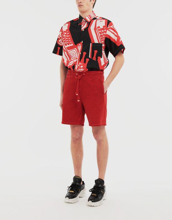 MAISON MARGIELA Telephone printed shirt Short sleeve shirt [*** pickupInStoreShippingNotGuaranteed_info ***] d