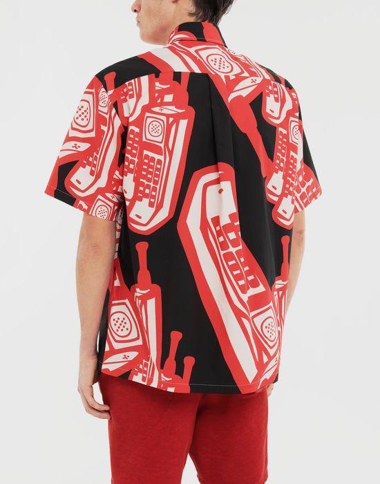 MAISON MARGIELA Telephone printed shirt Short sleeve shirt [*** pickupInStoreShippingNotGuaranteed_info ***] e