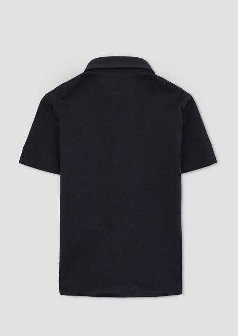 Short-sleeved cotton shirt