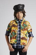 DSQUARED2 Hawaiian Boxy Shirt Shirt Man